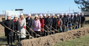 breaking ground for Greensboro Elementary new construction